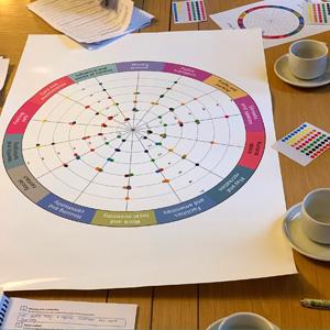The Place Standard score wheel