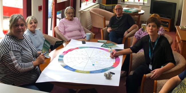 Conversation at Lyn Royd retirement living