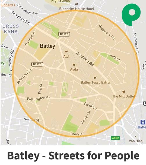 Batley map