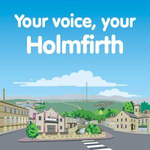 Holmfirth town centre